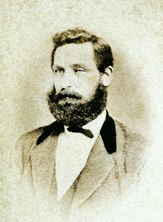 Frederich Wilhelm Arnesen. Foto omkring 1875.